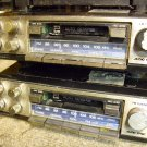 Sanyo car stereo FT-1405 Audio Spec AM FM Cassette under dash,each need repair,slide mounts included