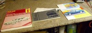 Haynes 1979-1985 Saab 900 Repair Manual and Soundings Vol.33 #1 magazine,and Saab owners manual