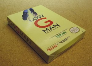 Low G Man, Nintendo NES with box, by Taxan.