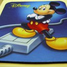 Disney Stunt Island, mouse pad with Micky Mouse on it 1992 video game for DOS