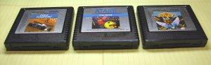 Atari 5200 Supersystem, 3 Video Game Cartridges.