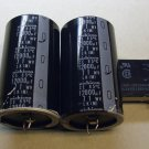 Nichicon 12000 mfd 71 volt electrolytic filter capacitors, Onkyo TX-SV727, and relay, used.