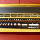 Gauge block set, Germany, 36 blocks, range .05005 to 2 inch, 50 millionths, wooden box. used gage.