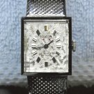 Hilton Men's Madison watch, Swiss 17 jewels incabloc, white, display case and box,.