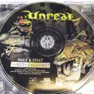 Unreal for Windows PC video game, by Epic, GT interactive, used.