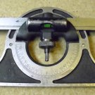 Brown and Sharpe Machinists Protractor with 12 inch blade.