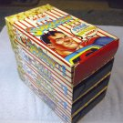 Superman, Baby Huey, Bugs Bunny, Raggedy Ann, VHS ACT 2 popcorn old cartoons.