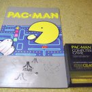 Pacman Atari 800 XL game cartridge CXL4022 with manual. Pac Man