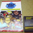 Donkey Kong , Atari 800 XL computer game RX8031 ( from Nintendo ) 1983, cartridge with manual.