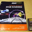 Star Raiders , game cartridge with manual, 800 XL Atari CXL4011 year 1980.