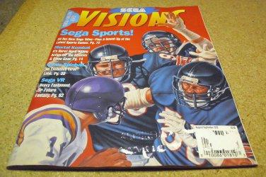 SEGA Visions magazine issue AUGUST ~ SEPTEMBER 1993.