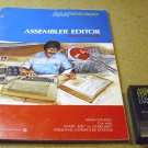 Assembler Editor Computing Language cartridge CXL4003 with manual 6 books Atari 400 800 XL