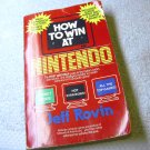 How to Win at Nintendo, 1988 paperback book, by Jeff Rovin.