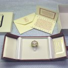 Marilyn Monroe replica ring, size 9, with box, display box and paper insert.