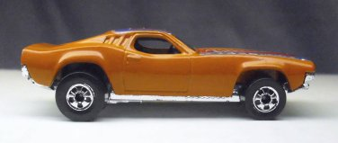 Dixie Challenger, Hot Wheels 1982 toy car Orange, HotWheels.
