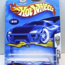 Ground FX, Hot Wheels, 2003 First Editions, Metal collection 049 blue.