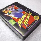 Marble Madness, Sega, game case, cartridge, manual, and tested, 1991.