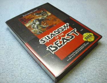 Shadow of the Beast, Sega Genesis 1991 cartridge, Case, Manual, Poster, insert.