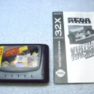 32x Sega Virtua Racing Deluxe, cartridge and manual, 1994. ( virtual racing )