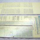Belden wire, conduit capacity slide rule chart 1964, by Perrygraf.