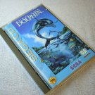 Ecco the Dolphin Sega CD with game case and manual sold AS-IS, 1993.