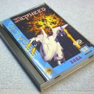 Slipheed Sega CD Genesis with game case and manual sold AS-IS, by Game Arts 1993.