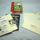 Sega poster, customer reply cards, Sonic 3 game manual, Game Gear brochure.