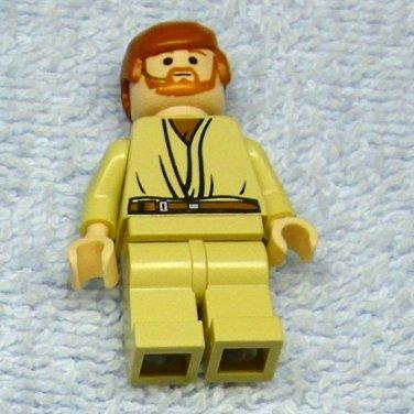 Lego OBI WAN KENOBI Minifigure from Star Wars set 7661