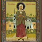 St. Ksenia of St. Petersburg. Orthodox Icon from Russia.Small.