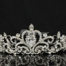 Swarovski Crystals Fashion Flower Bridal Tiara Crown for Wedding Party