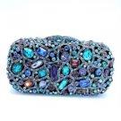 Deluxe Swarovski Crystals Laday Clutch Rectangle Evening Bag Purse Handbag