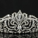 High Quality Clear Swarovski Crystals Bridal Tiara Crown 4 Wedding JH8372-5