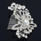 Chic  Retro Pretty Bridesmaid Bridal Comb Wedding Swarovski Crystals
