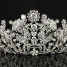 H-Quality Bridesmaid Bridal Tiara Crown Clear Swarovski Crystals Wedding JH8318