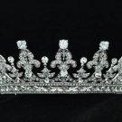 Wedding Bridal Flower Tiara Crown Headbands W/ Clear Swarovski Crystals 05365R