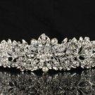 Swarovski Crystals Noble Flower  Bridal Tiara Crown for Wedding