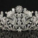 H-Quality Pretty Flower Bridal Tiara Crown For Wedding Swarovski Crystal JHA8318