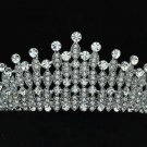 Wedding Bridal Rhinestone Crystals Flower Tiara Crown Headband W/ Clear Zircon
