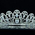 Swarovski Crystals Zircon Clear Flower Tiara Crown Headbands 249RJK 4 Wedding