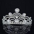 Could Style Tiara Crown For Bridal Wedding Head Jewelry W/ Swarovski Crystals
