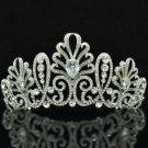 Hi-Q Swarovski Crystal Wedding Bridal Blink Floral Tiara Crown For Party SHA8636