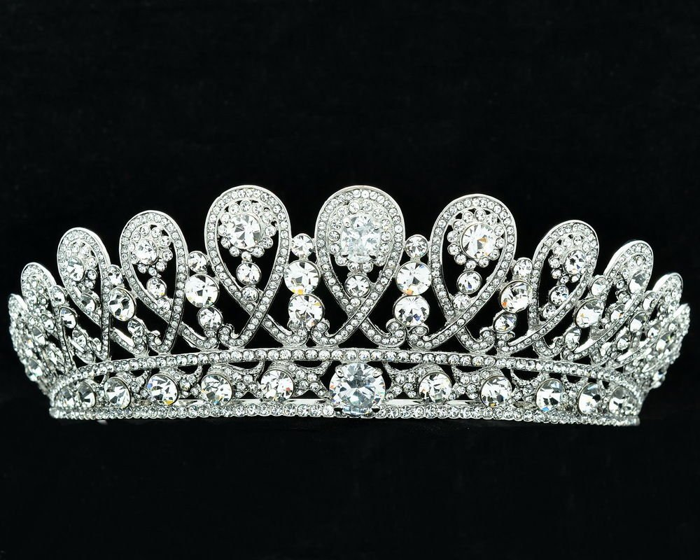 Swarovski Crystals Russian Royal Family and The Fringe Tiara Wedding SHA8627