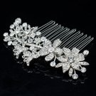 Rhinestone Crystal Comb Hairpins Hair Accessories for Wedding Bridal Prom 2256R