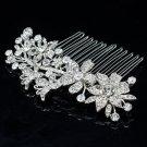 Rhinestone Crystal Comb Hairpins Hair Accessories for Wedding Bridal Prom 2256R