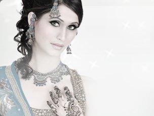 Swarovski Crystals Wedding Bride Flower Headband Tiara Crown SHA8631
