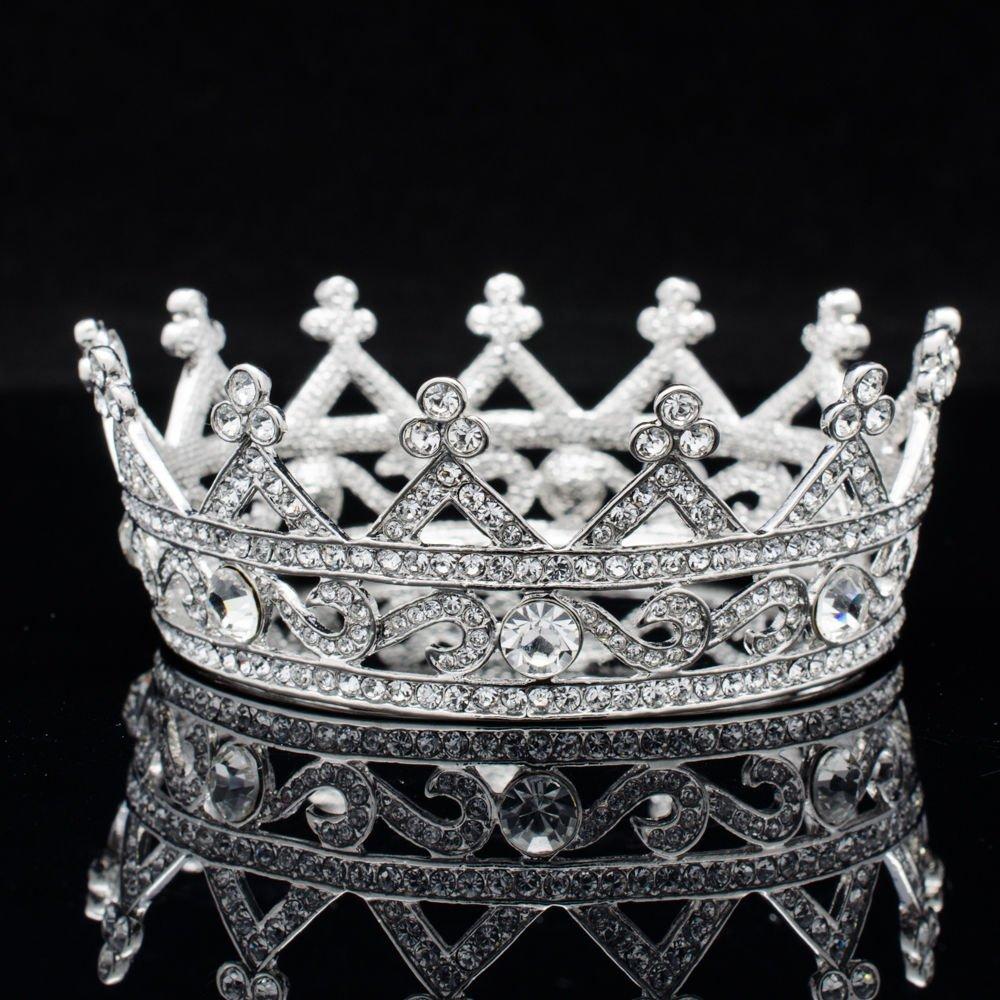Cute Swarovski Crystals Little Girl Flower Tiara Crown Headband Jewelry SHA8578