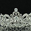 Hi-Q Swarovski Crystal Zircon Symmetric Tiaras Crown Women Party Jewelry SHA8648