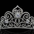 New Swarovski Crystal Tiara Crown for Bridal Wedding Girl Birthday Prom SHA8446