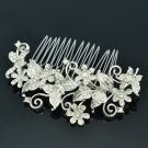 Butterfly Bride Wedding Hair Comb Headband Rhinestone Crystal Women Jewelry 3238