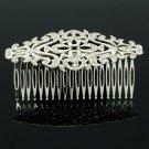 Pretty Vintage Style Palace Hair Comb Headband Women Rhinestone Crystals XBY081